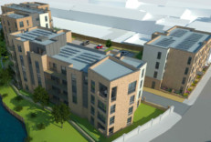 Rendering of the planned development at Bonnington Mill