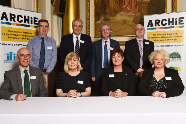 Photo of member chief executives at ARCHIE launch.