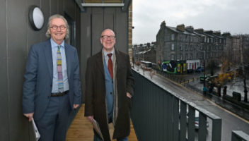 Photo of Keith Anderson and Kevin Stewart MSP.