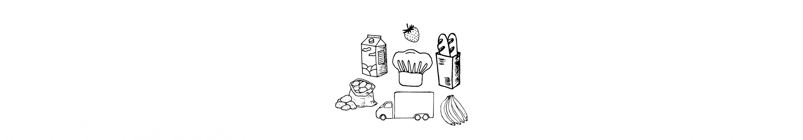 Illustration of groceries.