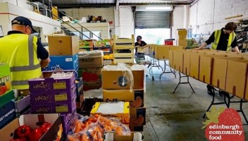 Photo of ECF packing boxes.