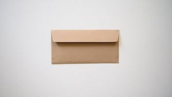Photo of a brown envelope.