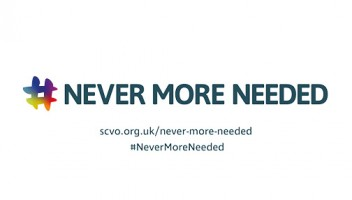 Never More Needed poster/
